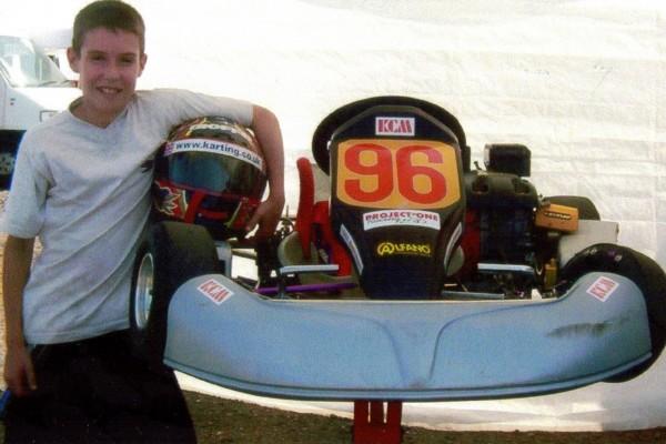 Lydd 2003 Honda Cadets Daniel Rogers