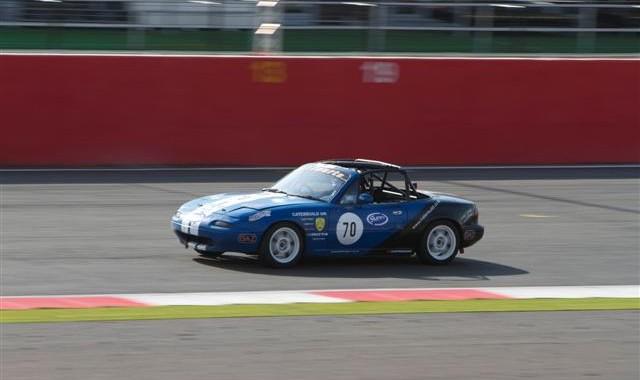 Dan Rogers Silverstone Ma5da Autumn Chmpionship Mazda MX5