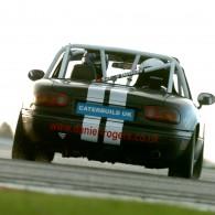 Winter Testing Bedford Autodrome Daniel Rogers Mazda Mx5