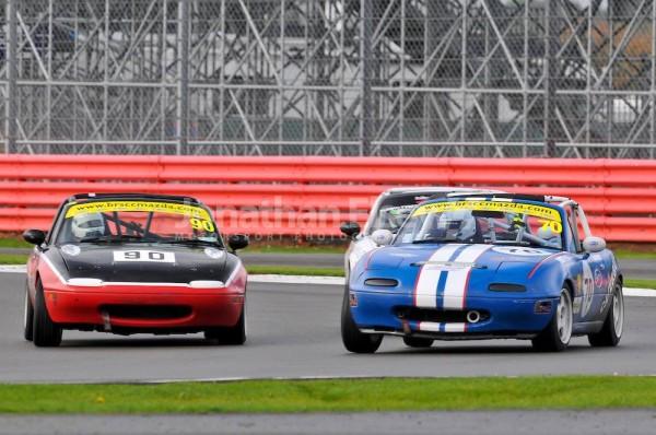 BRSCC Mazda MX5 Silverstone