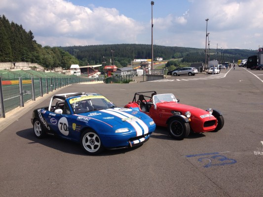 MX5 and Westfield