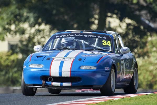 Dan Rogers Oulton Park CSCC Mazda MX5