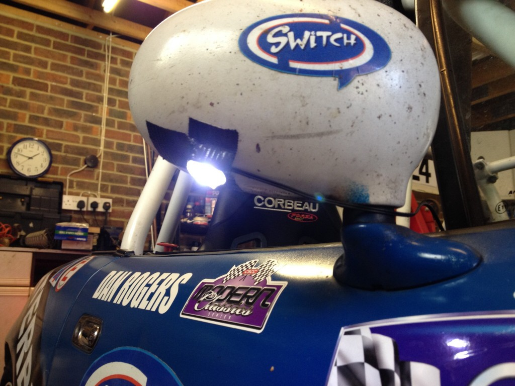 Fitting Lights For Night Racing October 31 2015 Relay Switch Halfords I Sourced These Led Puddle From About 10 Theyre An Aftermarket Accessory Which Is Perfect What We Needed And It Was Easy To